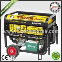 TIGER (CHINA)Hot Sale Copper Wire 6.5kw Honda Gasoline Generator