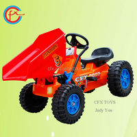 Plastic drivable car for kids ride on toys tractor 312