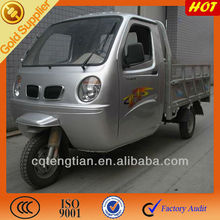 Water-cooled Cargo Tricycle with Closed Driver Cabin
