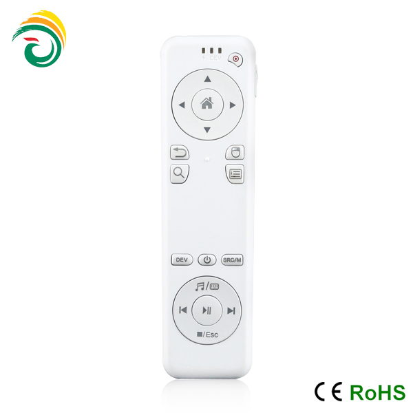 China manufacturer customized bluetooth remote control 2.4g air mouse for android tv box