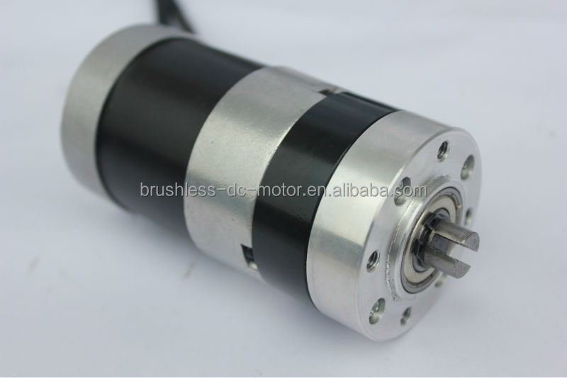 with planetary gearbox 57mm round brushless dc motor