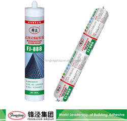 High performance 310ml grey roofing material silicone sealant from manufacturer