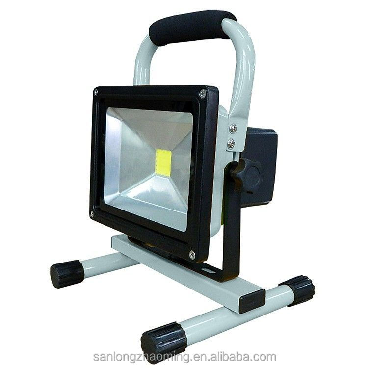 Rechargeable led lights indoor outdoor lighting 20w portable home emergency flood light