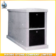 Haobo Stone Business Granite columbarium niche for Garden