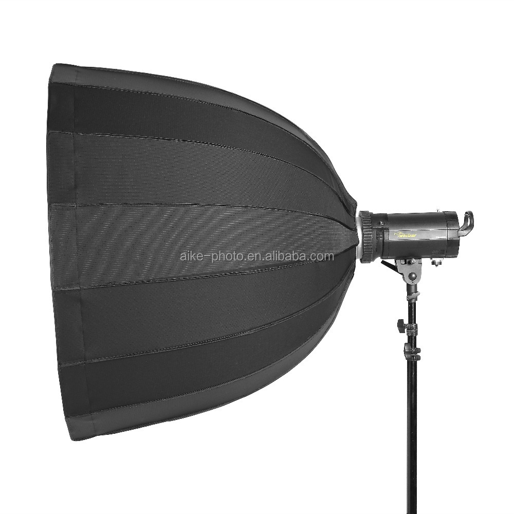 2017 New Product Quick assemble Deep Umbrella Folding Construction Softbox for Professional photography