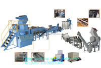 Waste Plastic Film Crushing Washing and Drying Recycling Line