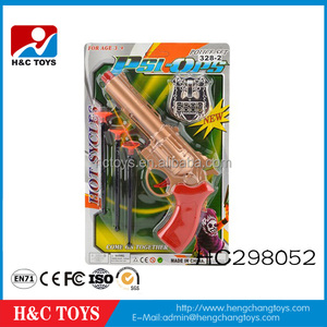 Children games plastic police toy set kids toy police gun play set HC298052