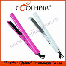 New product ultrasonic hair iron infrared,hair straighteners wholesale,private label flat iron