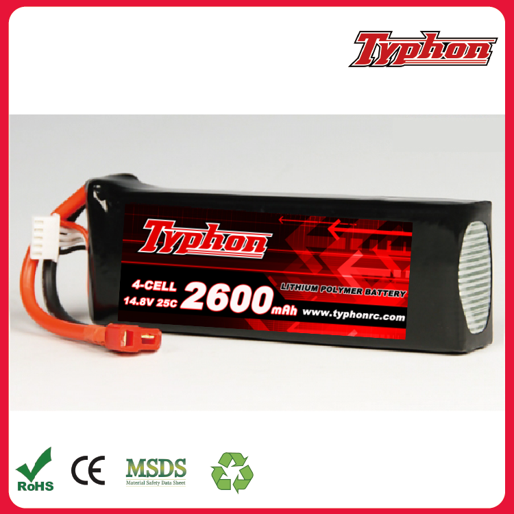 Walkera Furious 320(G) Tilt Rotor Furious 320(C)-Z-45 Li-po Battery 14.8V 2600mAh 25C (4S) Quadcopter Parts