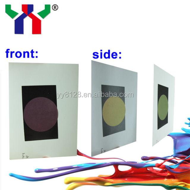 Color shifting money Interferometric optical variable ink security ink
