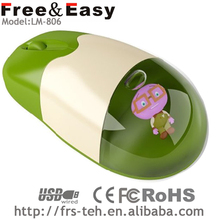 Water Transfer Printing 3D wired gift liquid water mouse boats for sale