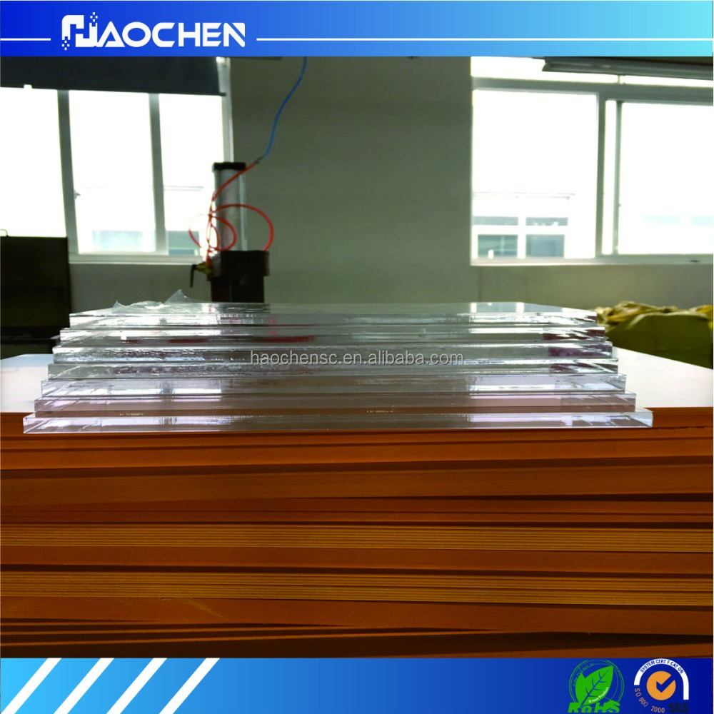 High transparent organic glass plate custom PMMA laser cutting processing acrylic sheet