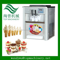 two handles commercial sundae ice cream machine