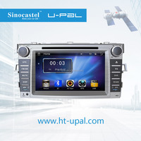 "Bluetooth-Enabled,Built-in GPS,MP3 / MP4 Players,Touch Screen Combination and 7"" Screen Size 2 din car dvd for Toyota Ez 2014"