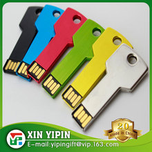 Colorful Promotion USB Key Shape Gifts Key USB Flash Drive Custom Logo