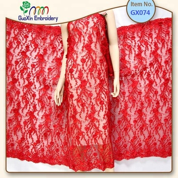 3D Beaded Embroidery Lace Dress Fabric, Nigerian Textile African Trimming Lace