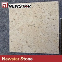 Newstar hot sales yellow color split face limestone