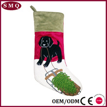 Cute dog sled gift for kids Christmas decoration Christmas Stocking