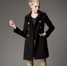 Spring and Autumn 2013 new European and American women loose coat and long sections it windbreaker jacket