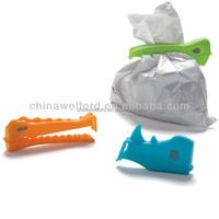 plastic creative design shape bag seal clip