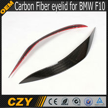 Auto Accessories Carbon Fiber Front Lamp Eyelid for BMW f10