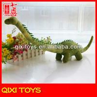 long neck green plush dinosaur toys