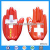 Inflatable hand toy, PVC inflatable hand toy for kids, cheering stick inflatable hand