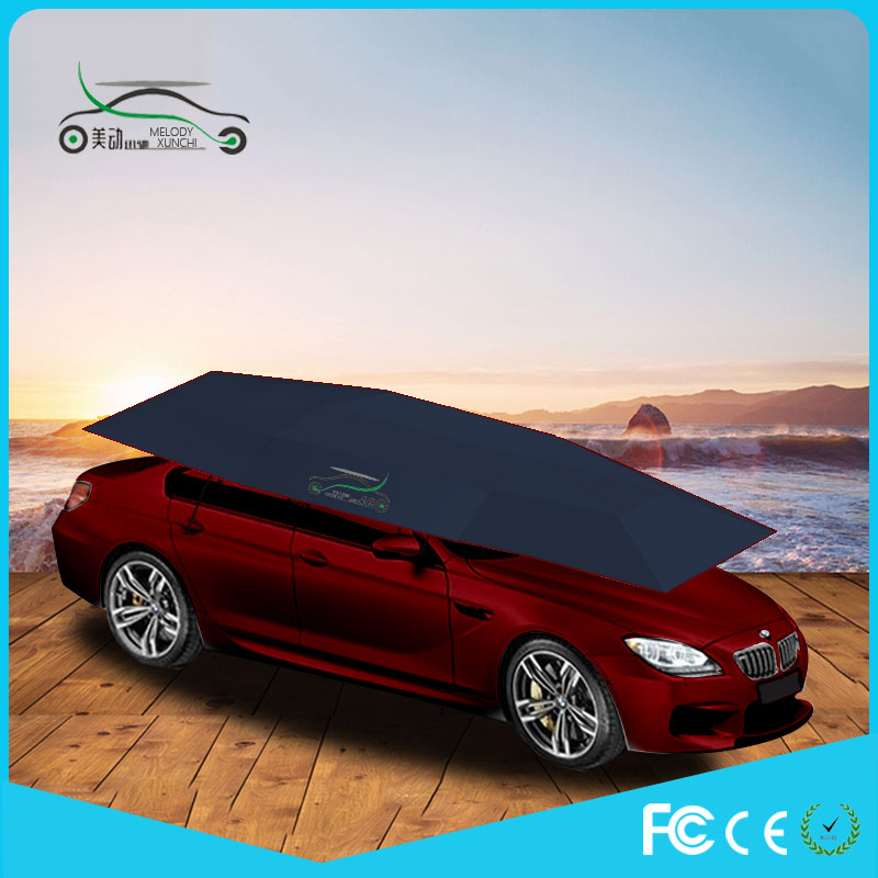 Melody Insulated Free Standing Folding Garage Car Cover