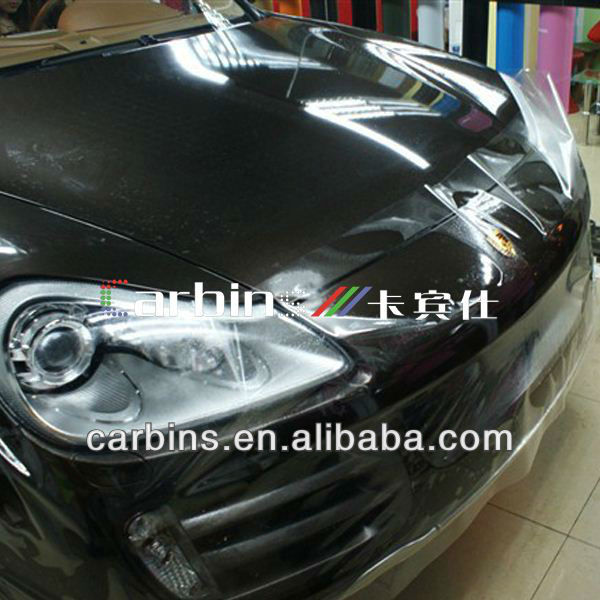 Soft PVC Transparent film in rolls for car paint protection