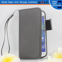 Popular Business Leather Cover For Galaxy S4 mini I9190 Case Replacement