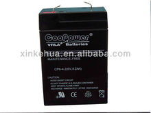 emergency light battery 6V 4.2Ah