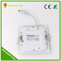 Low cost backlight solution led panel light battery powered led panel light newsen led panel light 15w