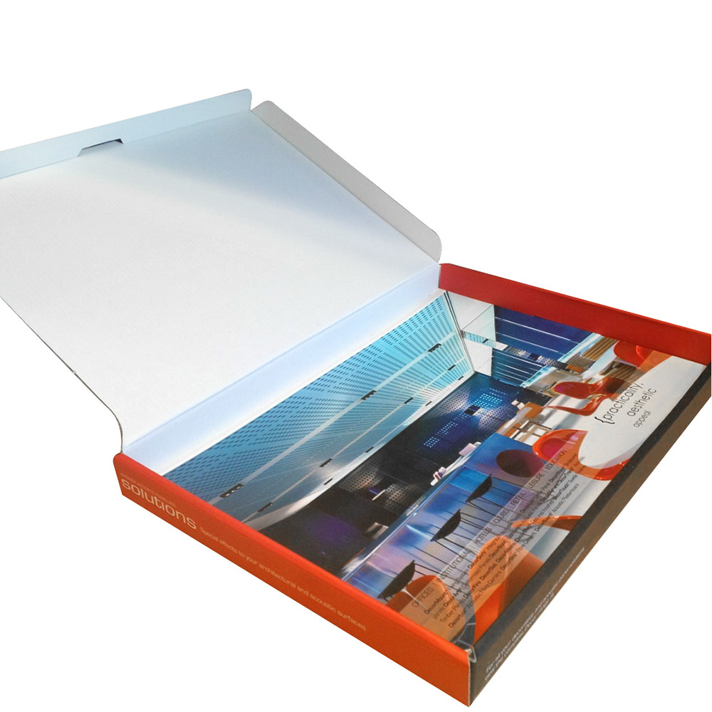 Hot sale customize colourful collapsible cardboard box