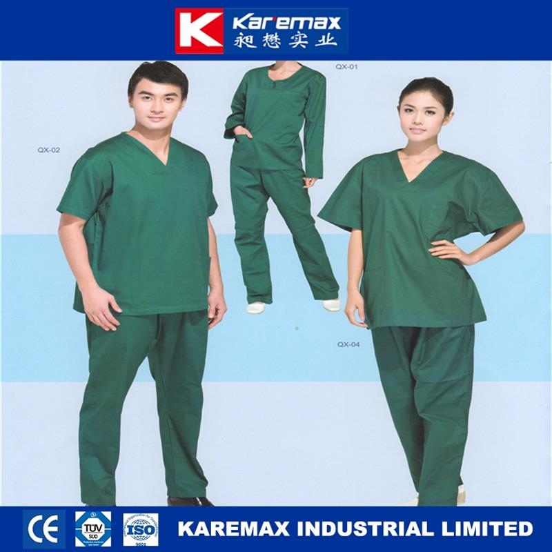 surgery clothing operating room clothing green surgical gown