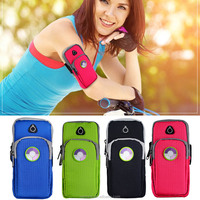 UV Test Running Sport Wrist Mobile Phone Armband Bag Keys Cards Arm Pouch Case