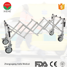 Durable Church coffin truck folding trolley cart