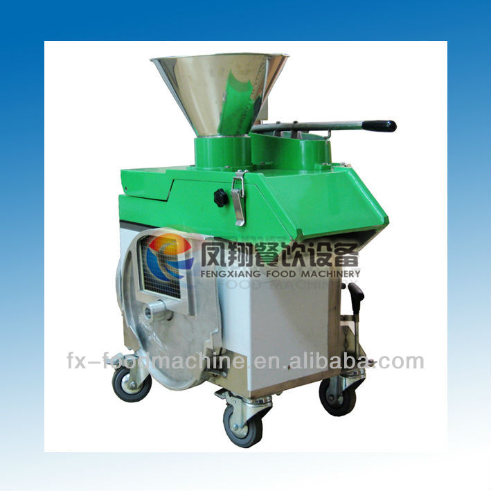 FC-311 potato lotus carrot turnip radish melon eggplant cube/dice slice strip three in one cutting machine/dicer/striper/slicer