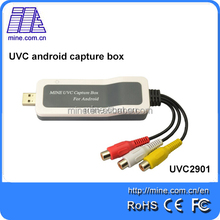 China manufacturer AV DV video capture card with audio