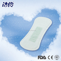 Bamboo biodegradable belted sanitary napkin