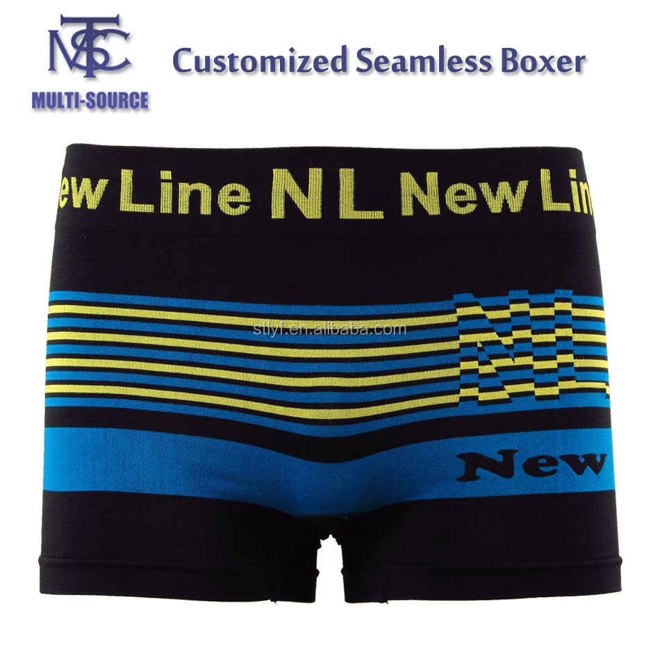 New design cheap seamless boxer short for men,High quality mens underwear.