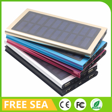 Solar Panel Power Bank External USB Battery Charger 2 USB Output Mouth For Cellphone