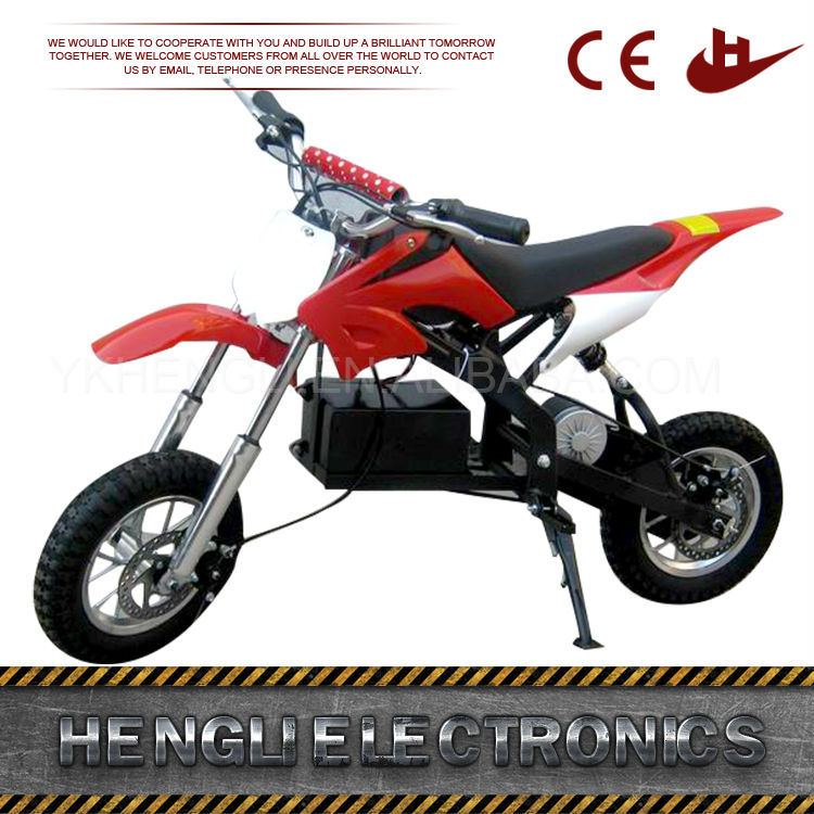 Manufacture Light Weight New 250W Electric cheap pit bike