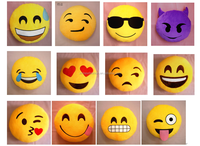 2015 Hot sell plush emoji pillow ,emoji cushion