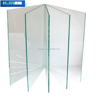 partition wall clear tempered glass