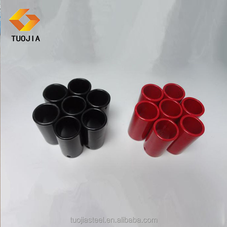 colored plastic coated epoxy steel pipe hot cold water tube supplier in apartment hotel residential district