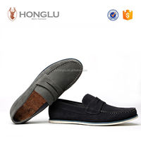 Suedette material summer and spring casual shoes for man and boy