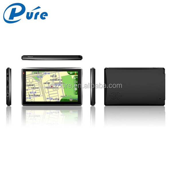5 inch Microsoft Windows CE.NET 6.0 Car GPS Navigation System Support Picture browser,Audio and Video player,FM Transmit