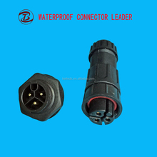 2 3 4 5 6 7 8 Pin Waterproof Power Electrical Nylon Cable Connector