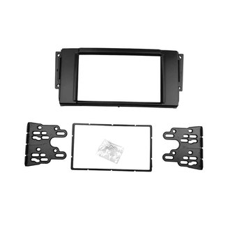 Double Din Fascia for Land Rover Range Stereo Panel Dash Mount DVD Trim Kit Installation Refitting Adaptor