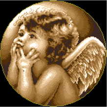 cross stitch sets small angel cross stitch kits embroidery kit